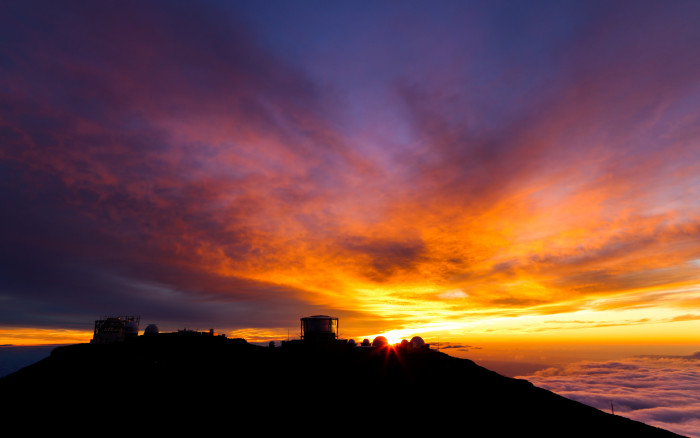 9. And you've got killer sunsets (and sunrises) from the summit of Mount Haleakala.