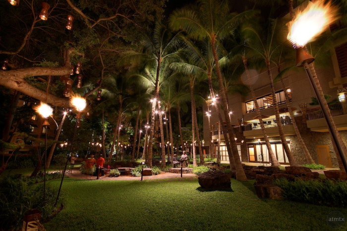 The same site today is home to the Royal Hawaiian Center.