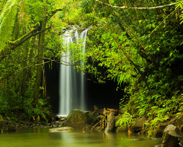 9. Waterfalls anywhere else will seem quite… dull.