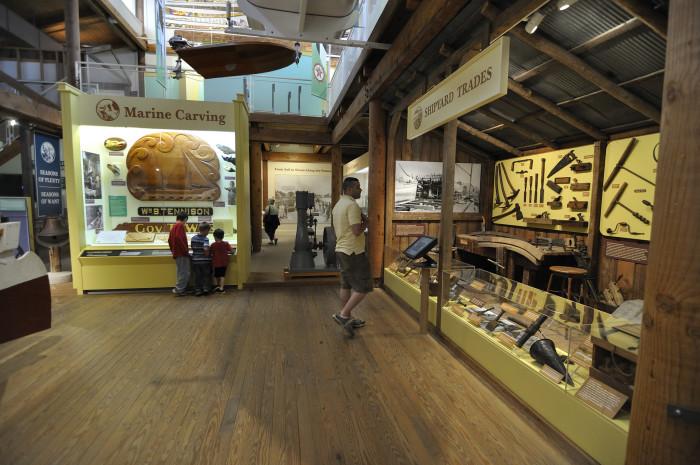 4. Calvert Marine Museum, Solomons
