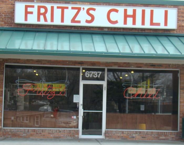 1. Fritz's Chili (Overland Park)