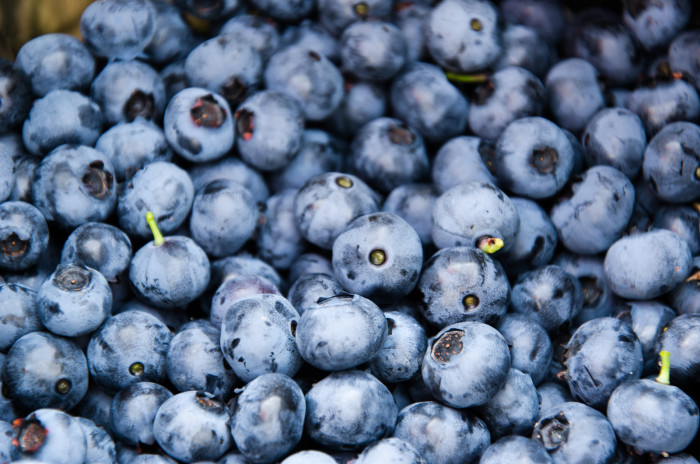 4. Blueberries