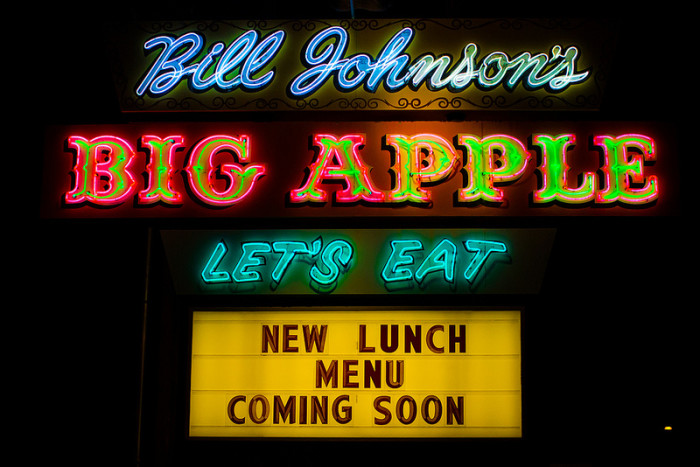 5. Eat a fancy meal at steakhouses like Bill Johnson's in Mesa or the Longhorn Grill in Amado, or at local places like Tom and Tiny's Family Restaurant in Sunnyslope.