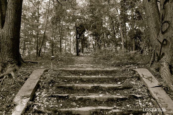 Many visitors have heard the sounds of footsteps echoing up and down the abandoned stairs.