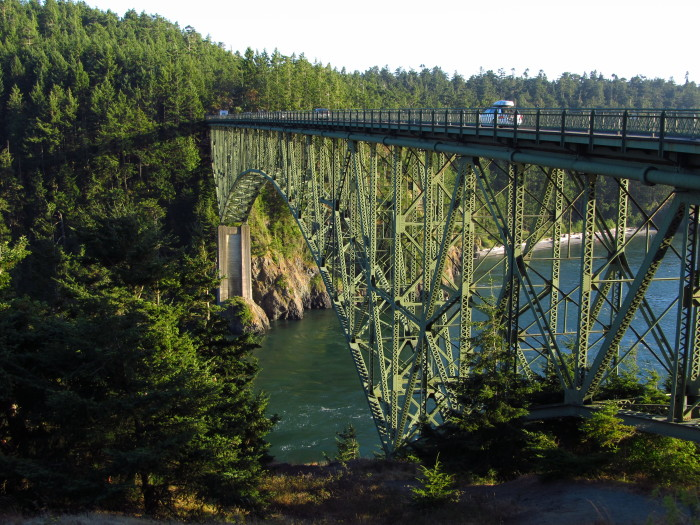 11. This photogenic bridge also features a pedestrian path with stunning views.
