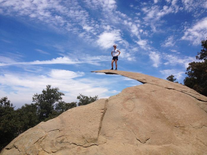 1. Potato Chip Rock on Mt. Woodson