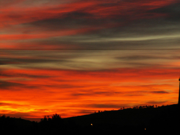 A Rapid City sunrise - sunrises in south dakota