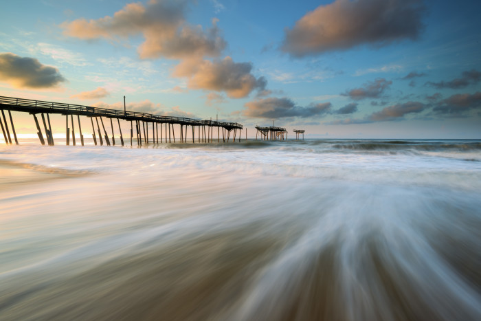 7. Getting swept away in the beauty of Cape Hatteras.