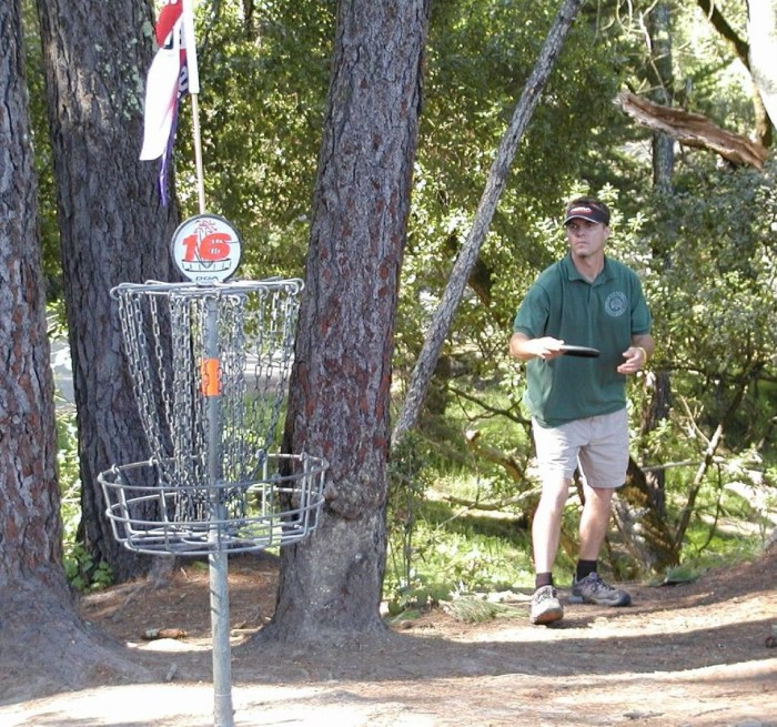 10. Disc golf courses, Statewide