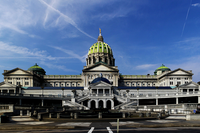 13. And finally, Pennsylvania's state capitol is an example of beautifully unique architecture.