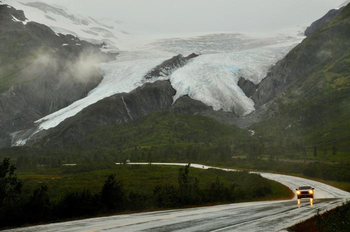 7. Worthington Glacier from the Richardson Highway