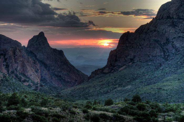 3. Chisos Mountains (Big Bend National Park)