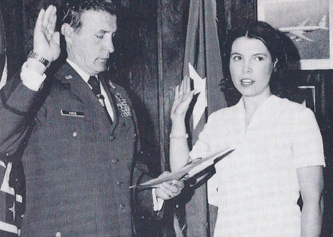 2. The First Female Member of the Georgia National Guard.