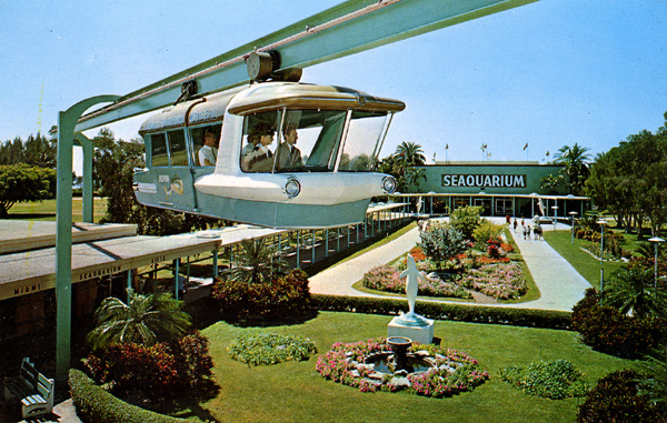 "10. ""Seaquarium Space-Rail, Miami"""