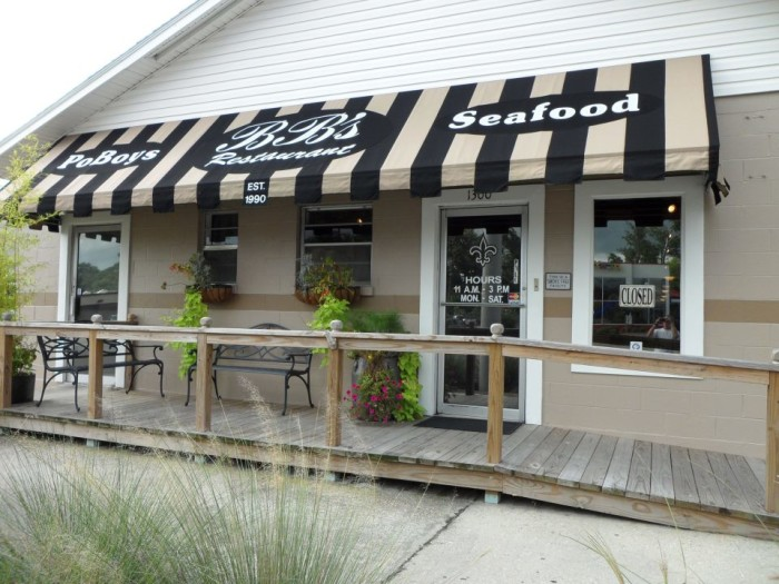 9. B.B.'s Po' boys and Seafood, Ocean Springs