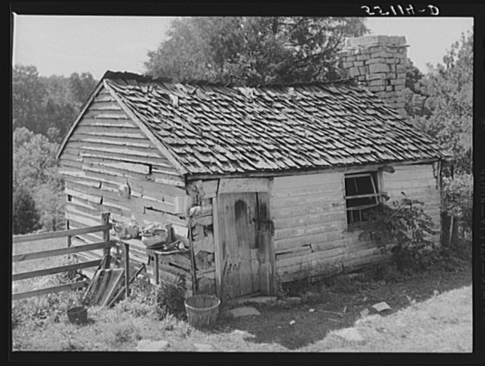 19. A former slave quarters or two converted to something more beneficial, like a milk house.