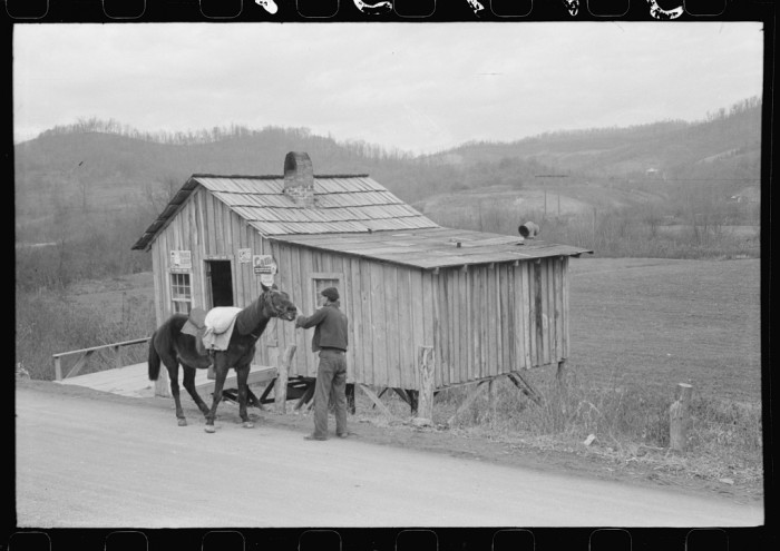 12. A real general store, where various supplies could be found from flour to rope.