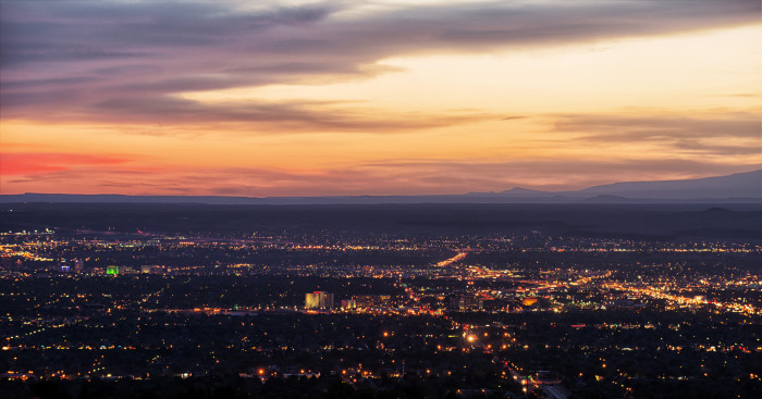 8. Albuquerque, NM