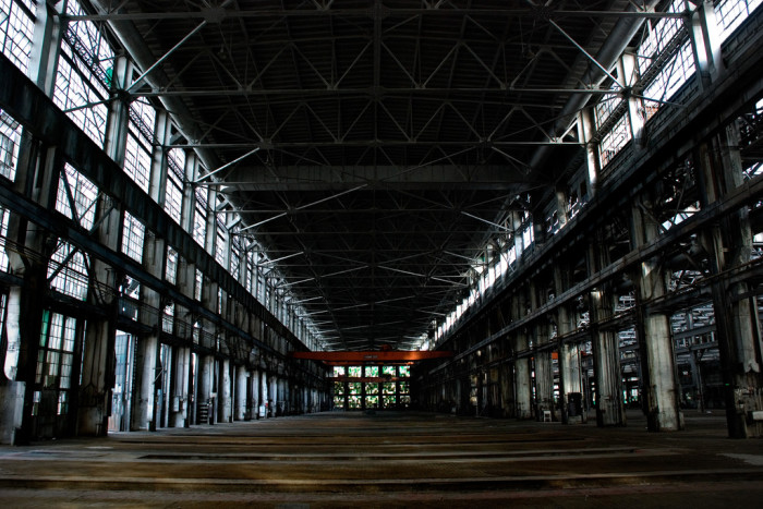 2. The Albuquerque Rail Yards consist of 18 structures that were built between 1915 and 1925. Nature probably won't have a chance to retake this land because it's likely to eventually be revitalized.