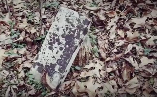 ADD slave grave marker