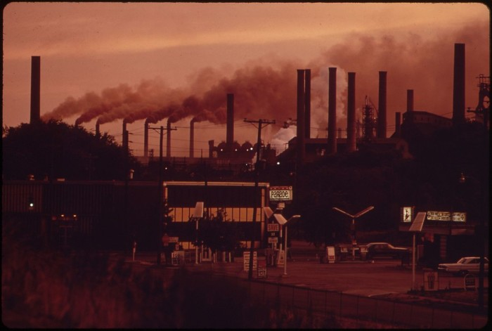 11. Fairfield Plant of U.S. Steel, Birmingham, 1972
