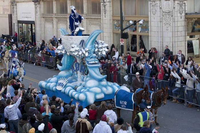 6. In 1703, America's original Mardi Gras was introduced in Mobile, Alabama.
