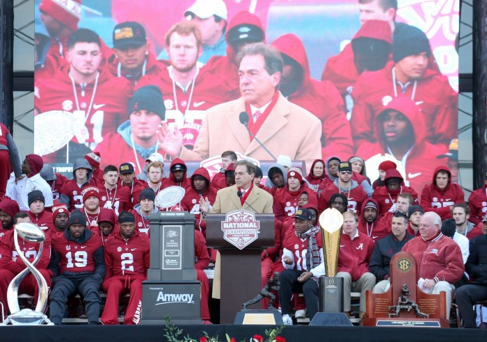 1. Alabama is home to the best college football team in the nation. ROLL TIDE!