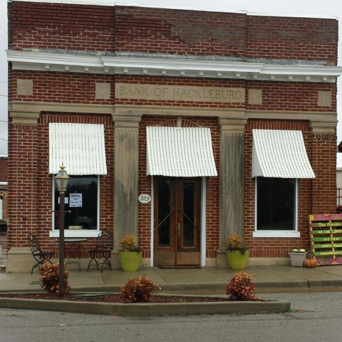 6. The Vault Bakery Cafe - 323 Walker St., Hackleburg, AL 35564