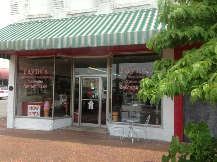 8. Payne's Soda Fountain & Sandwich Shop - Scottsboro, AL