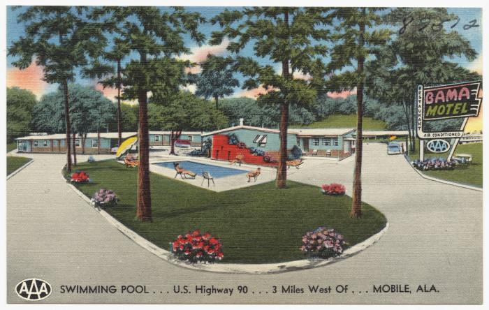 13. Bama Motel & Restaurant - Mobile, AL
