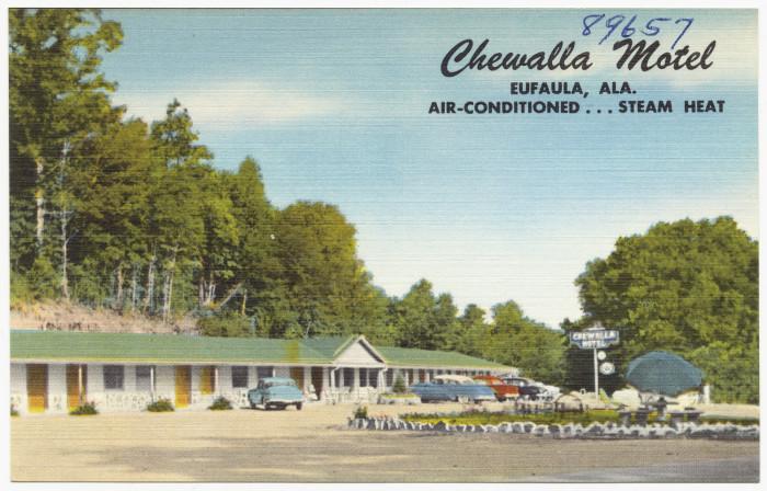 17. Chewalla Motel - Eufaula, AL