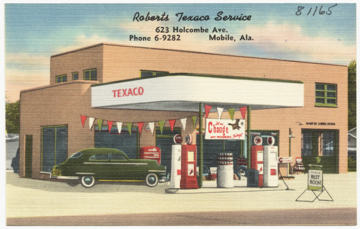 10. Roberts Texaco Service - Mobile, AL