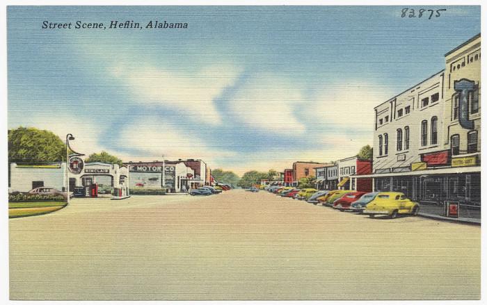 9. Street Scene - Heflin, AL