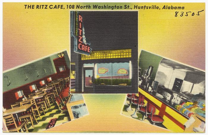 6. The Ritz Cafe - Huntsville, AL