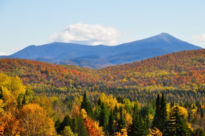 10. Experiencing New York's fall foliage in the Adirondack Mountains is an absolute must!