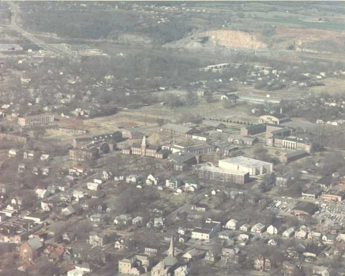 4. Aerial view of the Austin Peay State University