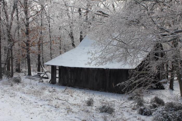 20. An old barn