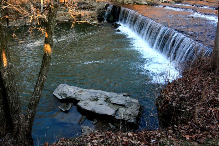 7. Anderson Falls