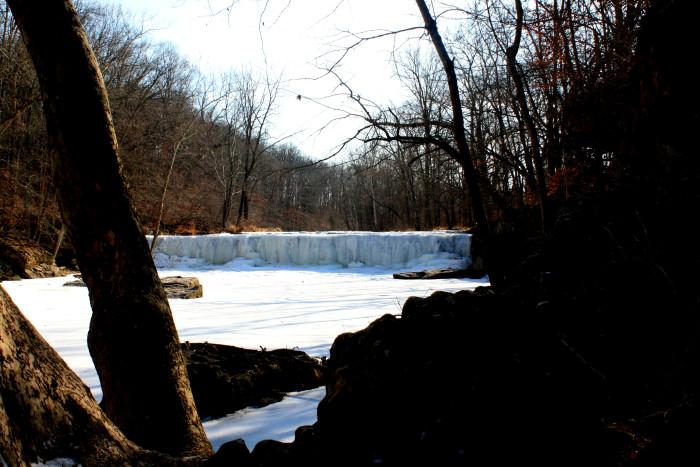 Anderson Falls Frozen