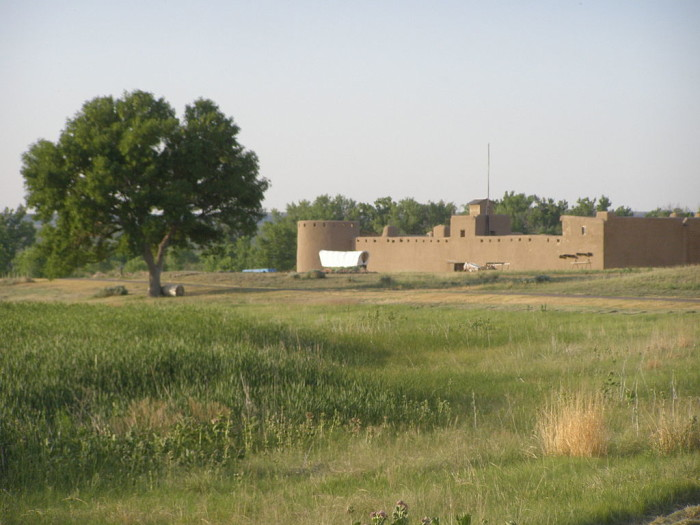 2. Bent's Old Fort National Historic Site (Otero County)