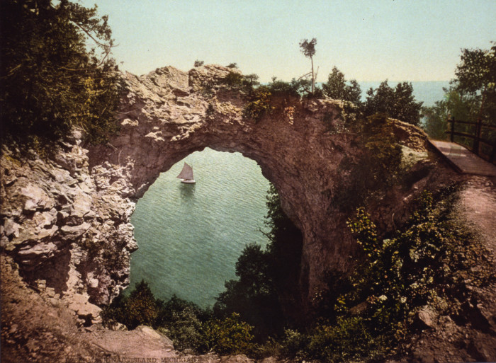 3. Arch Rock, Mackinac Island