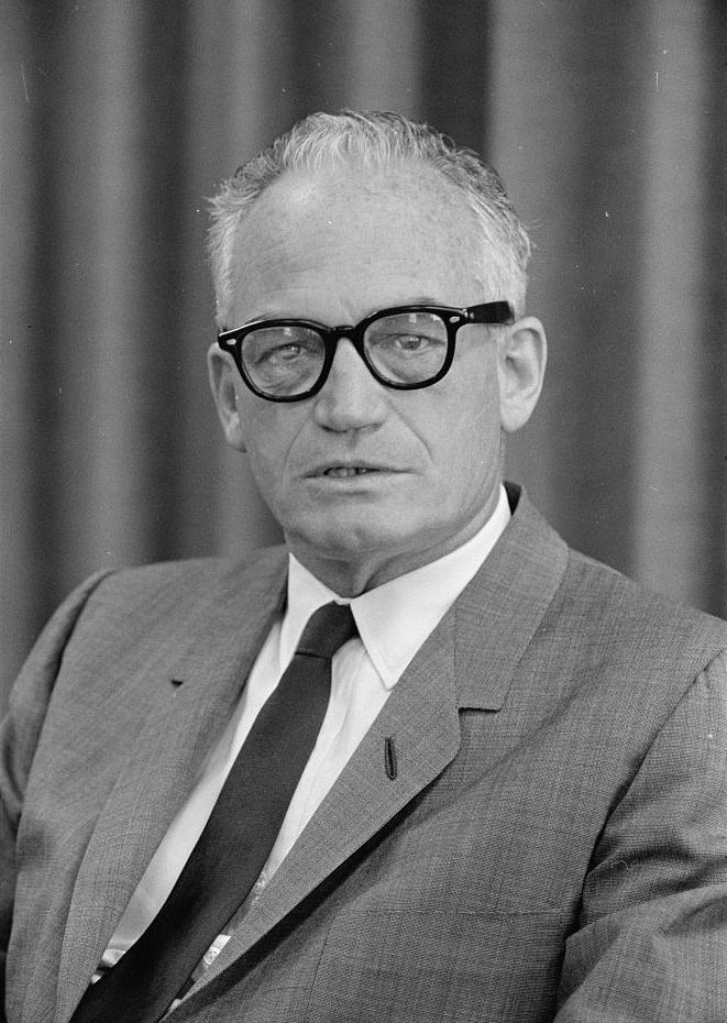 12. This person was an Arizona senator between 1953 and 1987, as well as the Republican presidential nominee in 1964.