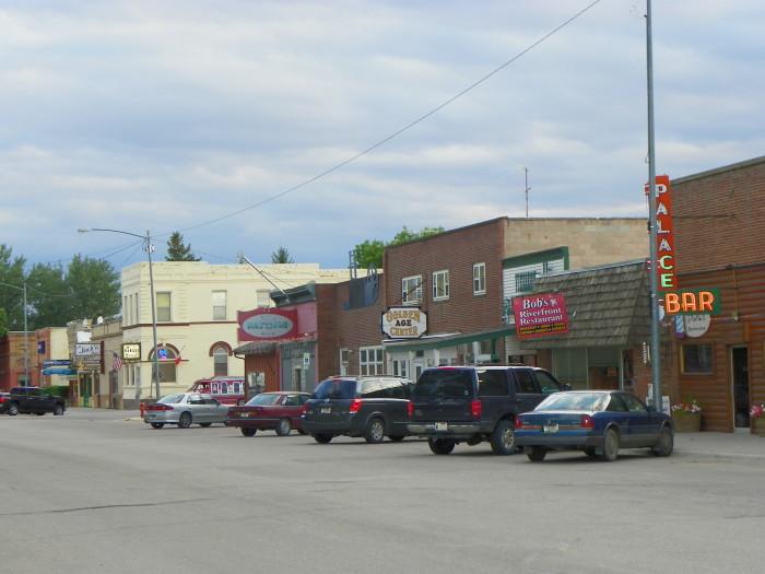 Beautiful Downtown Fort Benton, Montana-3905948325