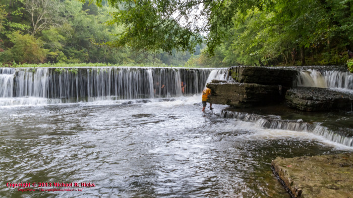 1. Big Falls - Old Stone Fort State Park
