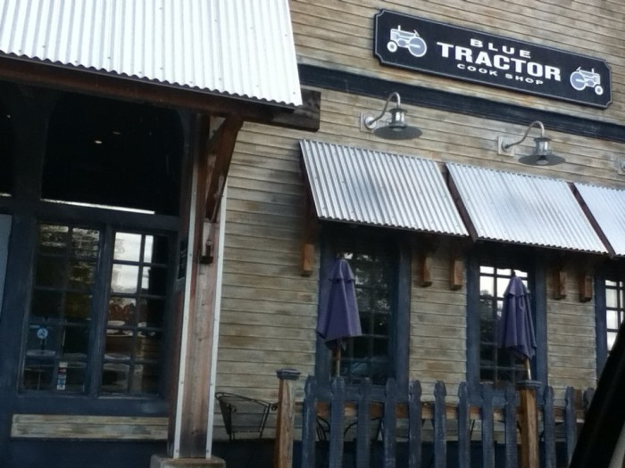 8) Blue Tractor Barbecue, Traverse City