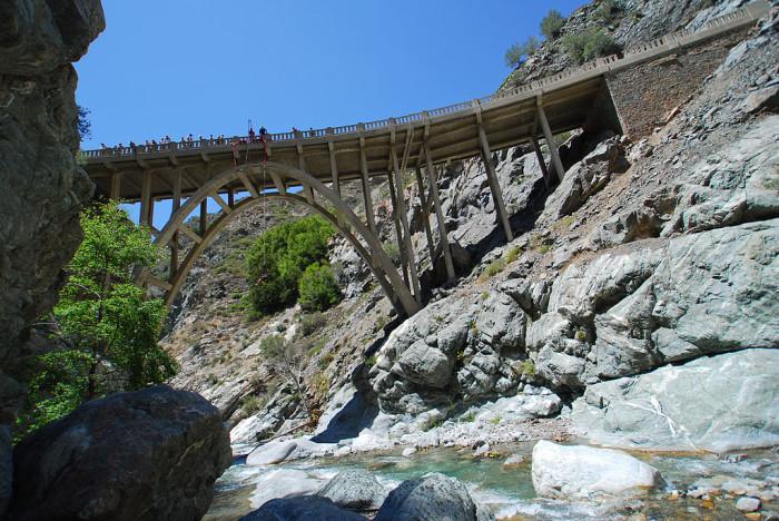 2. Bridge to Nowhere -- San Gabriel Mountains