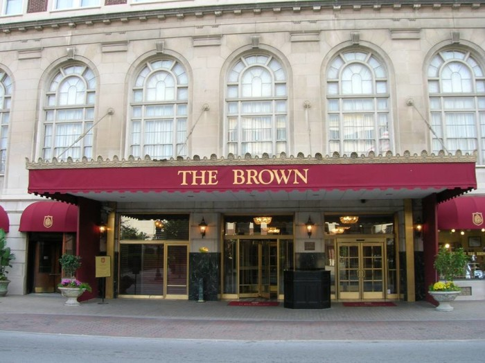 1. Brown Hotel at 335 E Broadway in Louisville