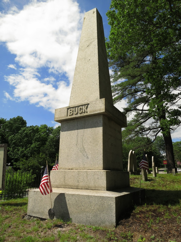 1. Colonel Buck's Cursed Tomb, Bucksport
