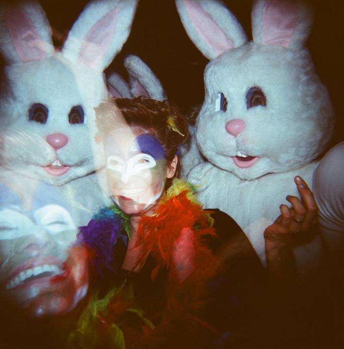 15. Bunnies and clowns