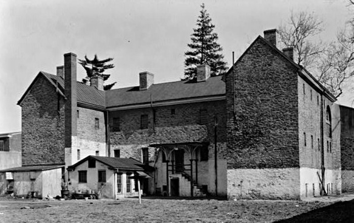 Burlington County Prison in 1937.